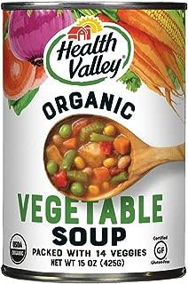 Health Valley Organic Soup, 14 Garden Vegetable, 15 Ounce