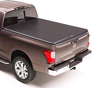 "TruXedo TruXport Soft Roll Up Truck Bed Tonneau Cover | 297401 | fits 16-20 Nissan Titan w/Track System 5'6"" bed"