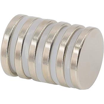 AUTOUTLET 25pezzi 12mm*3mm Magneti Forti Neodimio Potente Magnete Calamita Super Forte N52