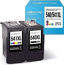myCartridge Compatibles Canon PG-540XL CL-541XL Cartucho de Tinta para Canon PIXMA MG2150 MG2250 MG3150 MG3250 MG3550 MG4150 MG4250 MX375 MX395 MX435 MX455 MX515 MX525 Imprimante (Negro/Color)