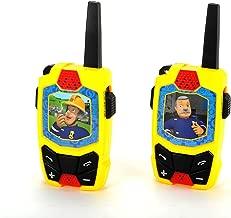 Dickie Toys 203092001 Feuerwehrmann Sam Walkie Talkie Funkgerät, Bunt