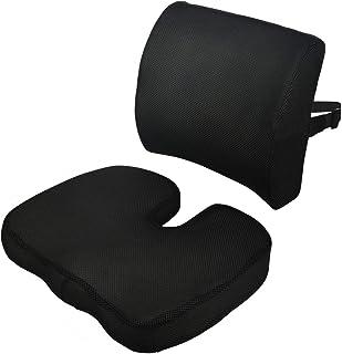 Littlesun Premium Comfort Seat Cushion – Non-Slip Orthopedic 100% Memory Foam Coccyx Cushion for Tailbone Pain – Cushion f...
