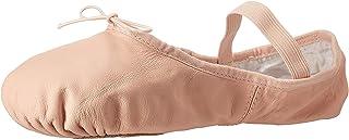 BLOCH Women's Dance Dansoft II Leather Split Sole Ballet Shoe/Slipper, Pink, 7.5 Wide
