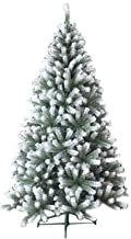 Christmas Tree, Artificial Xmas Tree with Snow Tips Sturdy Stand Easy Assembly Flame Retardant for Holiday Decoration for ...