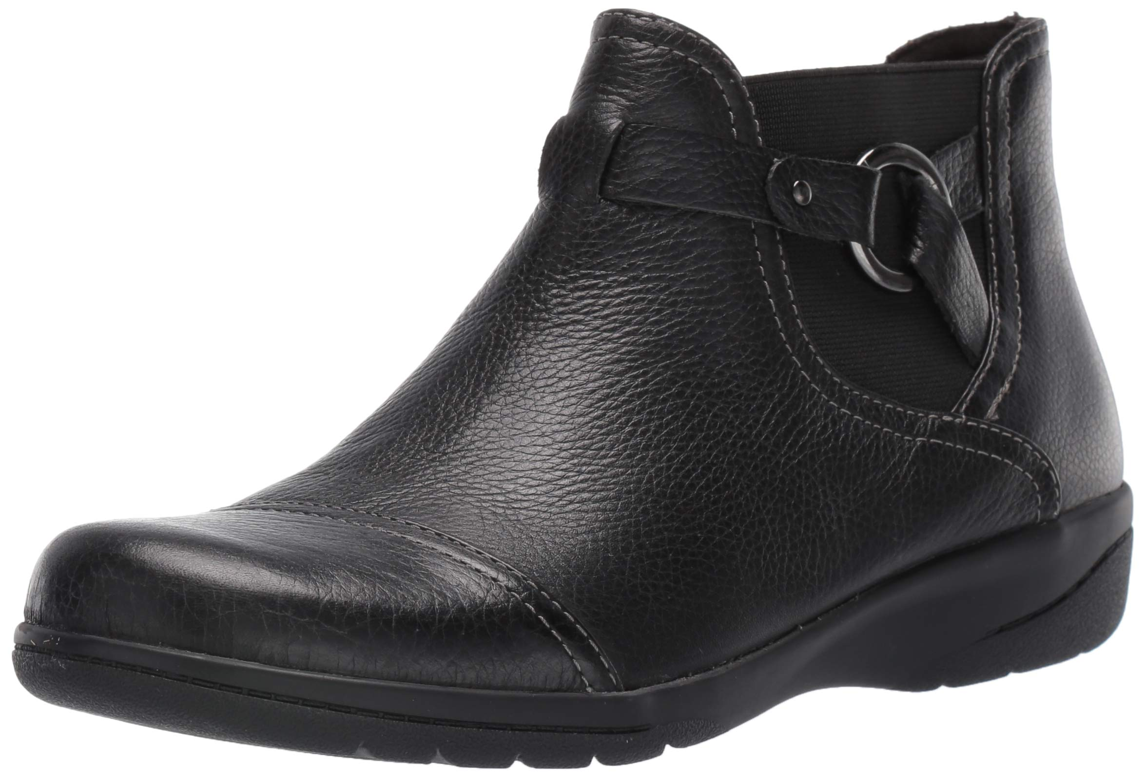 CLARKS Womens Cheyn Tumbled Leather