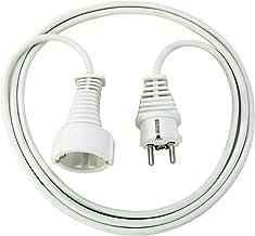 Brennenstuhl Qualitäts-Kunststoff-Verlängerungskabel 2m weiß, 1168120015