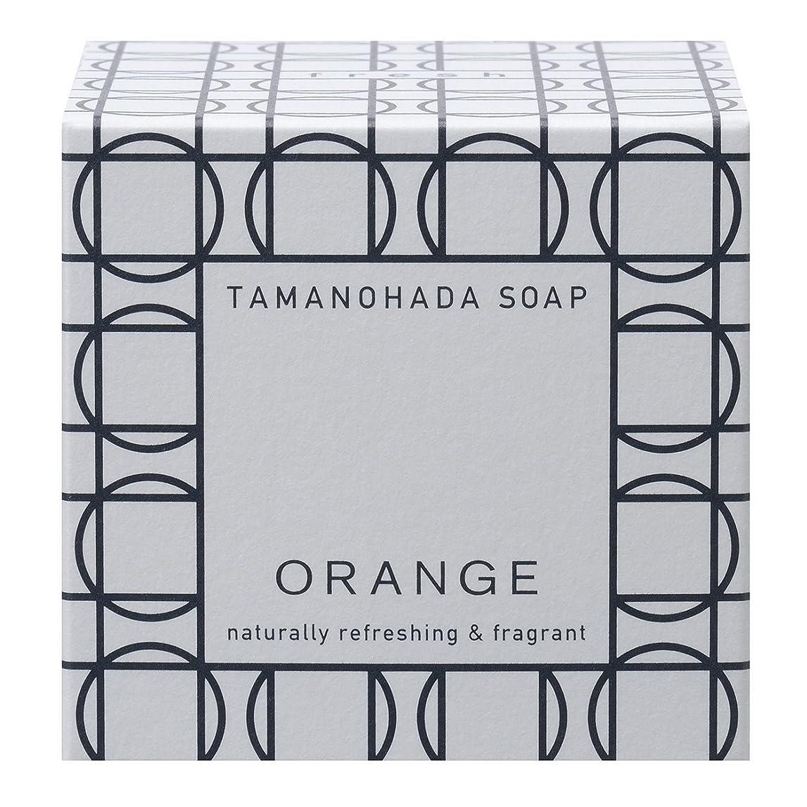 リスナー相反する滝タマノハダ ソープ 001 オレンジ 125g
