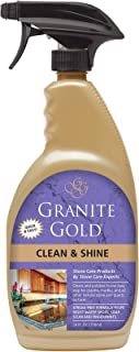 Granite Gold Clean And Shine Spray – Polishes And Deep Cleans Natural Stone Surfaces - 24 Ounces