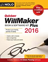 Quicken Willmaker Plus 2016 Edition: Book & Software Kit