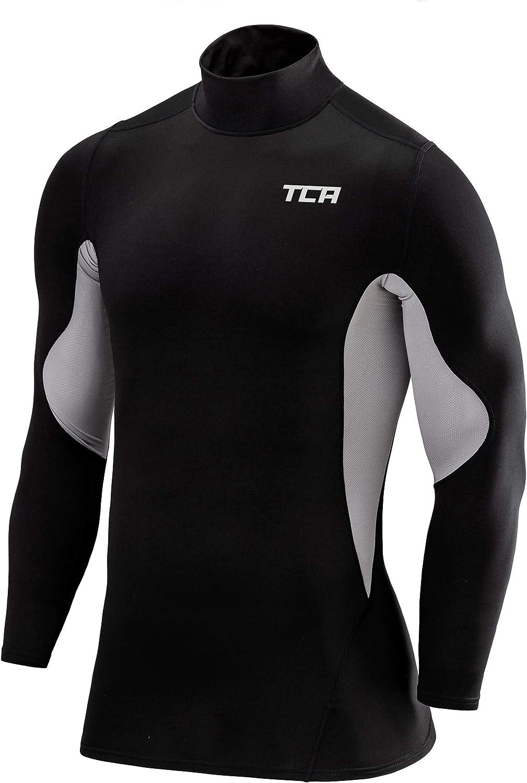 TCA Sport Womens Training Top Black Short Sleeve T-Shirt Gym Workout Base Layer