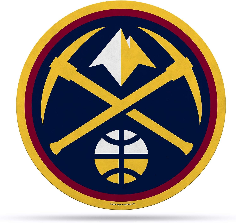 Rico Industries NBA Denver Nuggets Pennan Primary Logo trust Shape Cut Topics on TV