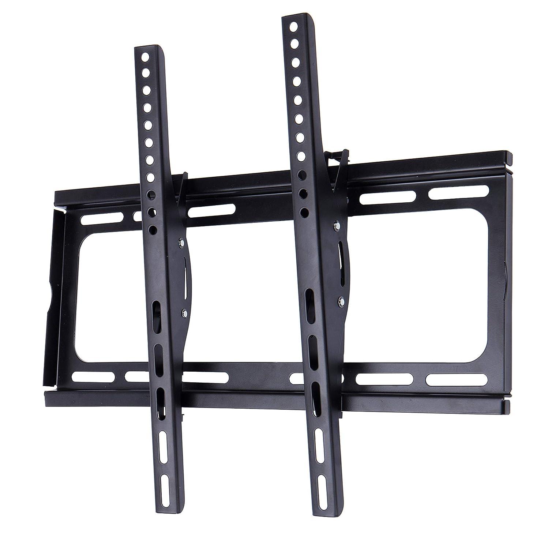 汚物地下酔ったECHILUCK テレビ壁掛け金具 26~65インチLED液晶テレビ対応 左右移動式 角度調節可能 VESA規格