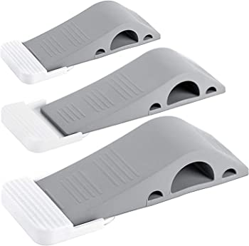 3-Pack Wundermax Rubber Door Stopper