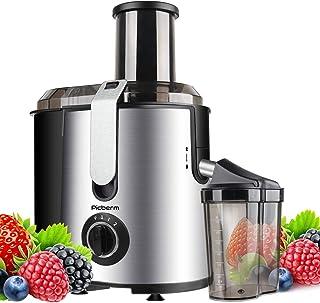 Centrifugeuse Picberm Extracteur de Jus 800W Grande Puissance Extracteur à Jus de Fruits et Legumes avec 2 Vitesses 75mm L...