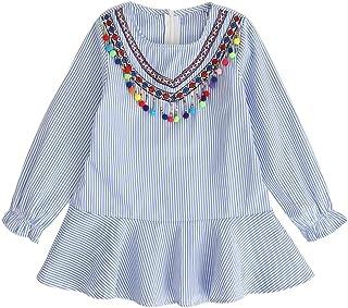 bd228787f5e DAY8 Fille 2 à 7 Ans Vetement Robe Princesse Chic Hiver Robe Soirée Fille  Chic ete