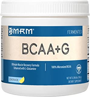 MRM BCAA+G Lemonade, 180 g Bottle