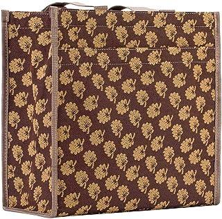 Signare Tapestry Stylish Foldable Reusable Shopper Shopping Bag in Jane Austen Design