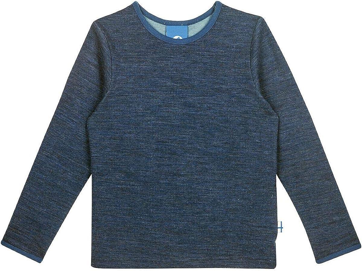 Finkid Kinder Taamo Wool Longsleeve Langarmshirt Sweatshirt