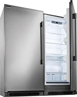 Frigidaire Professional Series Built-In All Refrigerator, All Freezer Combo with Easy Care Stainless