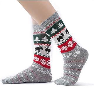 Clhbaih, Calcetines de navidad 2020 nuevos calcetines de juego familiar Padre-niño Navidad Calcetines de Navidad Algodón invierno otoño adultos niñas niños niños calcetines ( Color : Gray , Size : Adults )