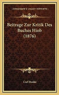 Beitrage Zur Kritik Des Buches Hiob (1876)