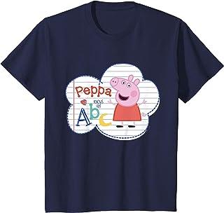 Enfant Peppa Pig ABC T-Shirt