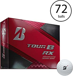 Bridgestone Tour B RX Feel and Distance Golf Balls Low Average Score (6 Dozen)