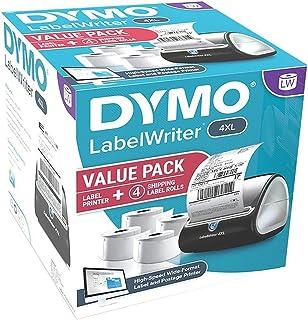 DYMO 4XL 标签印花标签打印机套装,10.16 厘米 x 15.24 厘米标签(4 卷)