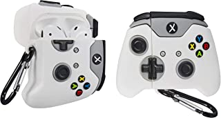 Xbox One Game Controller Joystick Silicone Shockproof Case Cover For Airpods - White