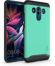 TUDIA Huawei Mate 10 Pro Case, Slim-Fit Heavy Duty [Merge] Extreme Protection/Rugged but Slim Dual Layer Case for Huawei Mate 10 Pro (Mint)
