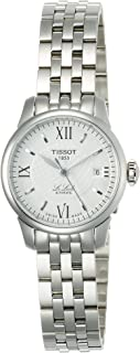 Women's T41118333 Le Locle Silver Dial Automatic Stainless Steel Watch