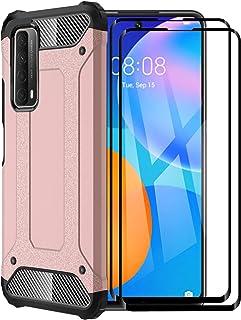 FINEONE® Funda para Huawei P Smart 2021, protección contra Golpes de TPU + PC Resistente a arañazos (Doble Capa) Carcasa p...