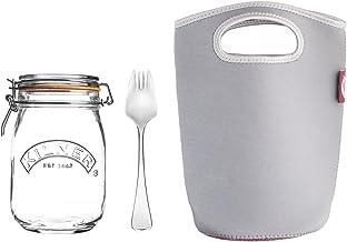 Kilner Make and Take Jar 3-Piece Set, 1 Litre Capacity