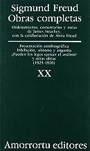 Presentación Autobiográfica, Inhibición, Síntomas y Angustia, ¿Pueden los Legos E0jercer el Análisis?, y Otras Obras (1925-1926): 20 (Obras Completas de Sigmund Freud)