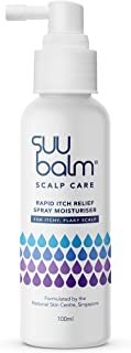 Suu Balm Scalp Care Rapid Itch Relief Spray Moisturiser, 100 milliliters