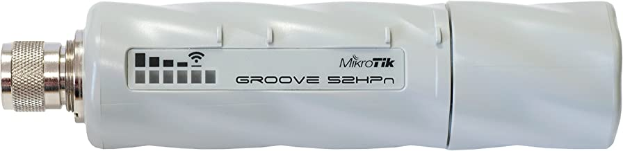 Mikrotik RouterBOARD Groove-52HPn 600MHz Atheros, 64MB, 1 LAN,built-in 2.4/5.8GHz 802.11a/b/g/n, OSL3, PoE.