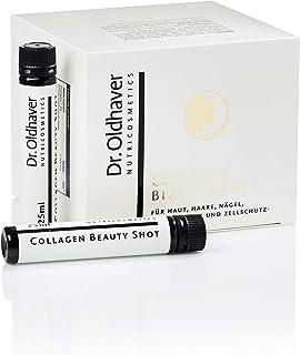 Dr. Oldhaver Collagen Beauty Shot 750ml 30 x 25ml Trink-Ampullen, Hoch dosiertes, bioverfügbares Kollagen-Hydrolysat, Für Nägel, Haut, Haare, Bindegewebe und Zellschutz, Monatspackung