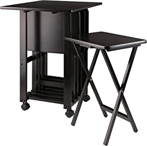 Winsome Sophia Snack Tables, Coffee