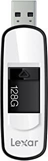 Lexar JumpDrive S75 128GB USB 3.0 Flash Drive - LJDS75-128ABNL (Black)