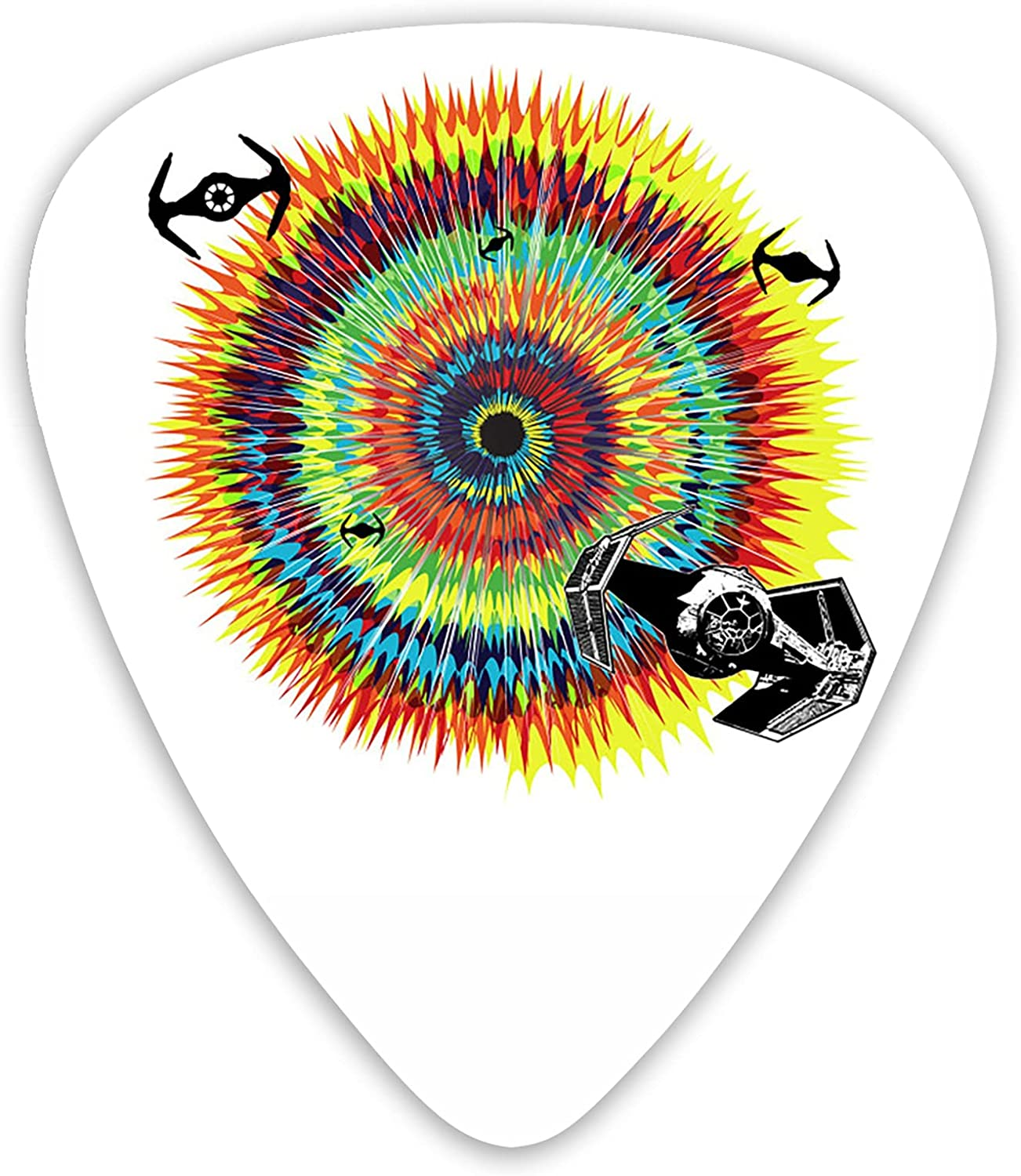 AYTOYY Tie Washington Mall Dye Guitar Picks 12-Pack For Electr safety Acoustic