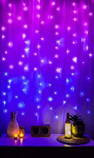 Colorful Christmas Lights Aesthetic.Purple Indoor String Lights Amazon Com