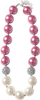 La Bella Rose Boutique Girls Bubblegum Necklace