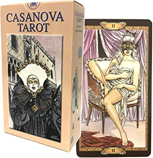 タロットカード 78枚 タロット占い 【 タロット オブ カサノバ Tarot of Casanova 】日本語解説書付き [正規品]