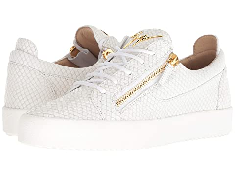 Giuseppe Zanotti May London Stamped Low Top Sneaker