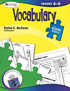 The Reading Puzzle: Vocabulary, Grades 4-8