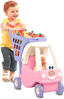 little tikes cosy coupe shopping cart pink