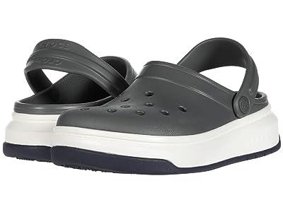 Crocs Crocband Full Force Clog (Slate Grey/White) Clog Shoes