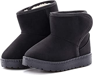 Baby Kids Comfortable Casual Shoes Winter Girls Boys Lovely Hiking Snow Boots(Todder/Little Kid)