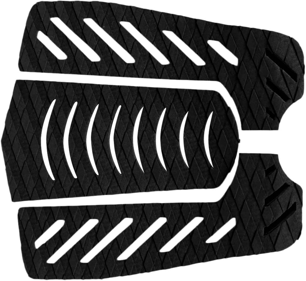 NC 3 Pieces Max 73% OFF Set Anti-Slip Surfboard Traction G Deck Ultra-Cheap Deals Tail Pad