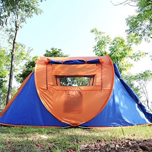 Maybesky Tente de Festival Il Convient aux Voyages extérieurs avec la Double Porte et Les Doubles tentes de Lancement de fenêtre. Tente de Camping familiale étanche à 100%